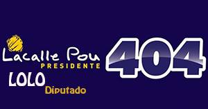 Lacalle Pou 404 - Artigas